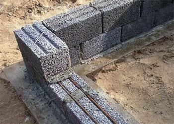 Колодцевая кладка керамзитобетона бетон в 30 гравий